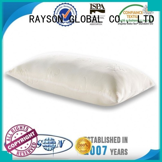 cool contour memory foam pillow silicon ventilated commercial Rayson Mattress Brand company