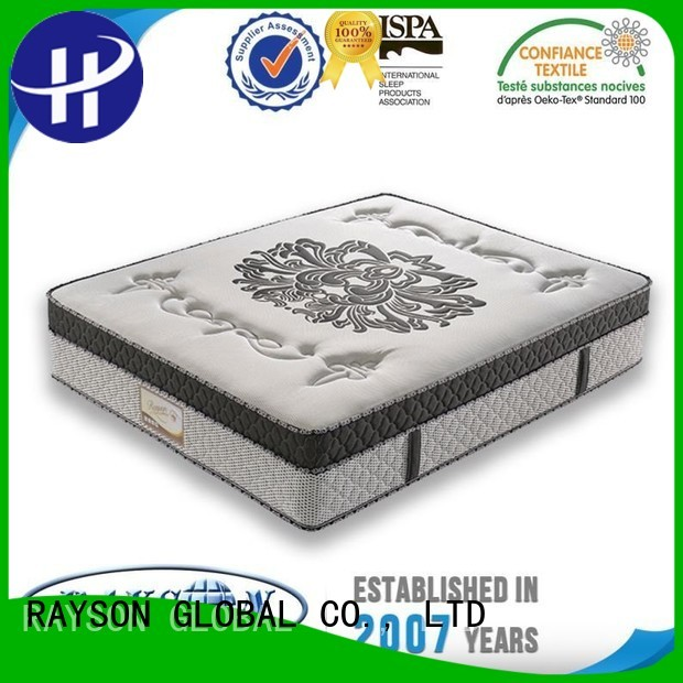 Rayson Mattress Brand little micro nigh custom king size pocket mattress
