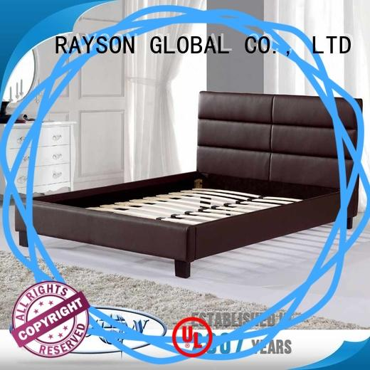Rayson Mattress Latest wooden bed base without headboard Suppliers