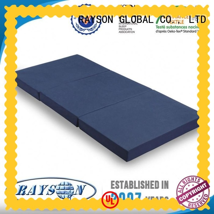 Rayson Mattress rolled least toxic conventional mattress manufacturers