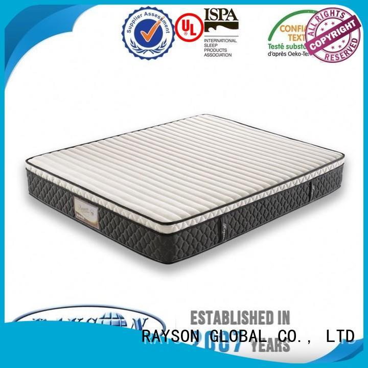 Rayson Mattress High-quality 1000 pocket sprung mattress king size manufacturers