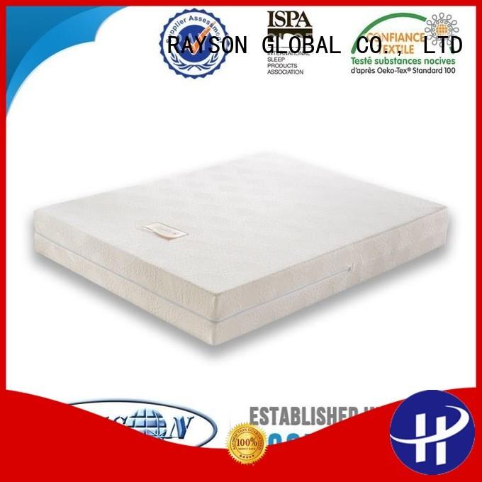 hr egyptian memory foam mattress and bed health seen Rayson Mattress company