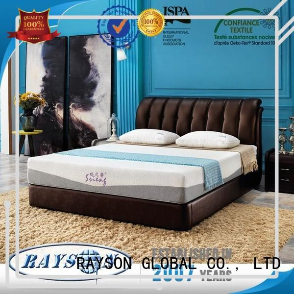 alibaba firepproof snooze memory foam mattress and bed memory Rayson Mattress