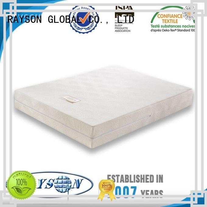 Rayson Mattress Brand reinforced hotsale best quality memory foam mattress