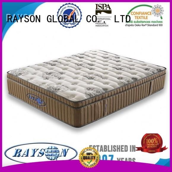 Rayson Mattress Brand websites warranty pocket sprung and foam mattress manufacture