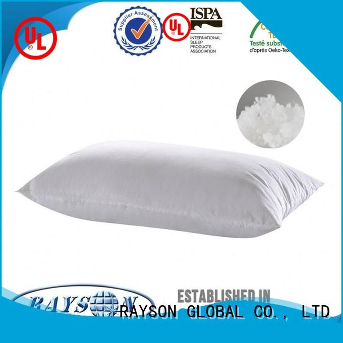 Rayson Mattress Custom hollander polyester pillow manufacturers
