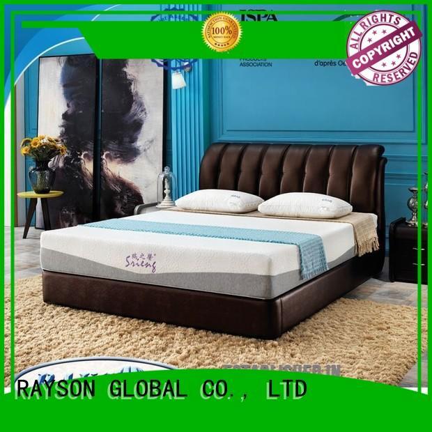 best quality memory foam mattress renewable 200 Rayson Mattress Brand memory foam mattress and bed