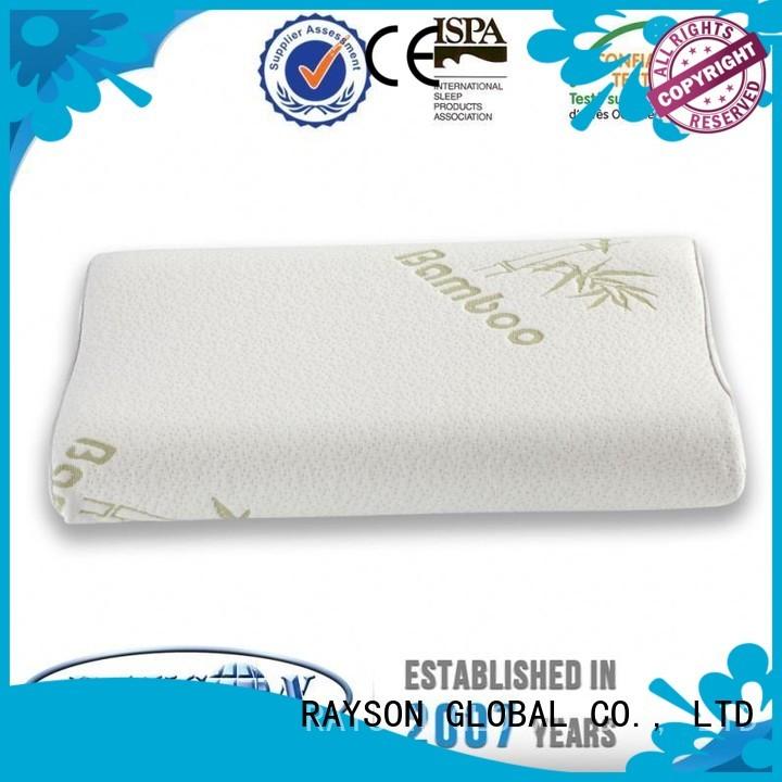 protable cost Rayson Mattress Brand cool contour memory foam pillow