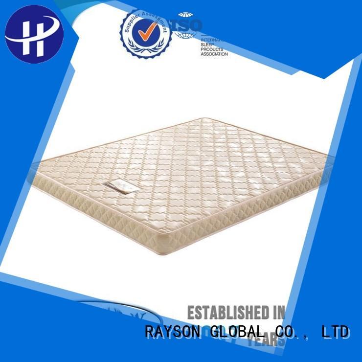 flat Custom european flex foam mattress waterproof Rayson Mattress