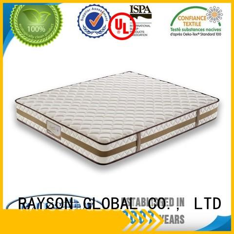 Rayson Mattress Brand natural base pocket springs for sale square