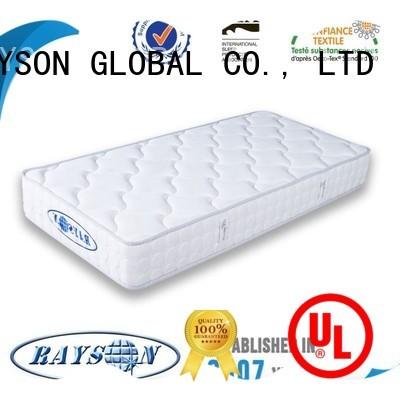 Rayson Mattress Best mattress without coils manufacturers