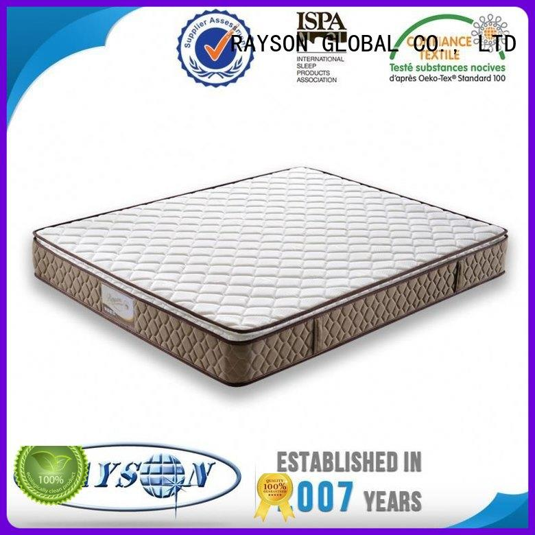 Rayson Mattress Brand sides zip advantage bonnell spring coil