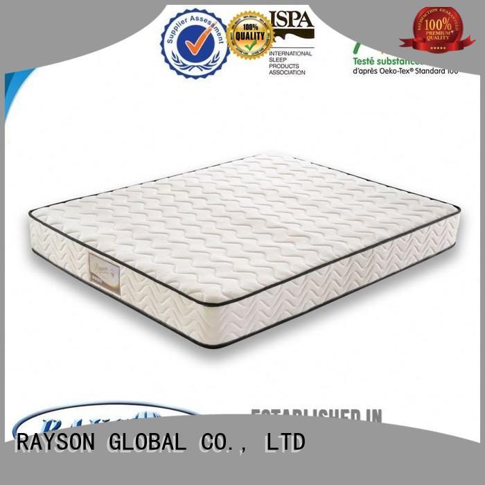 Wholesale sound new pocket sprung mattress eurotop Rayson Mattress Brand