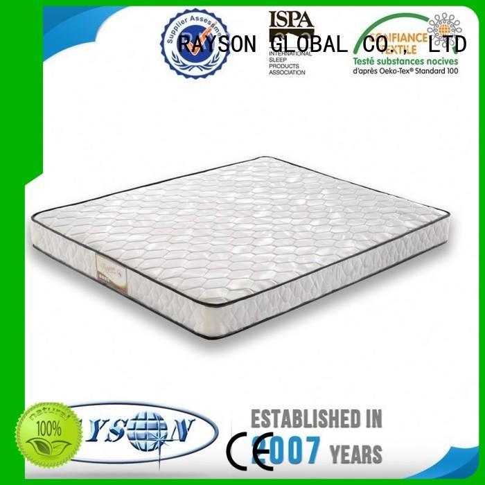 Quality Rayson Mattress Brand luxury bonnell spring mattress popular