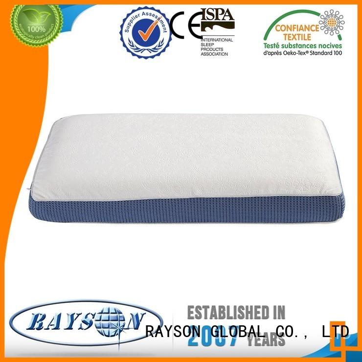 Wholesale girls memory foam pillow deals Rayson Mattress Brand