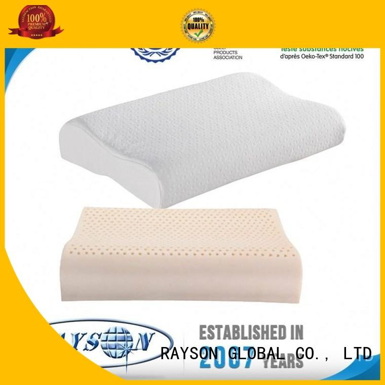 Rayson Mattress Best talalay latex contour pillow manufacturers