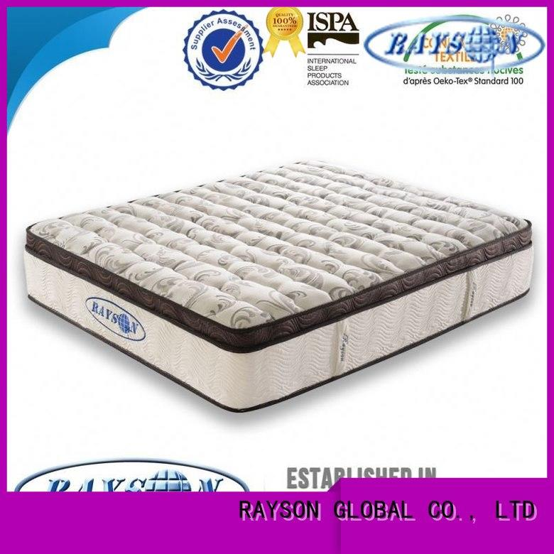 Quality Rayson Mattress Brand king size pocket mattress dual