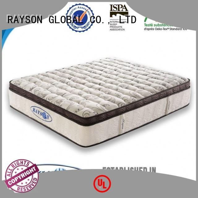 Rayson Mattress Custom hotel style mattress Suppliers