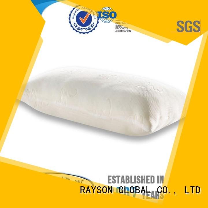 nipple pump Rayson Mattress Brand cool contour memory foam pillow factory