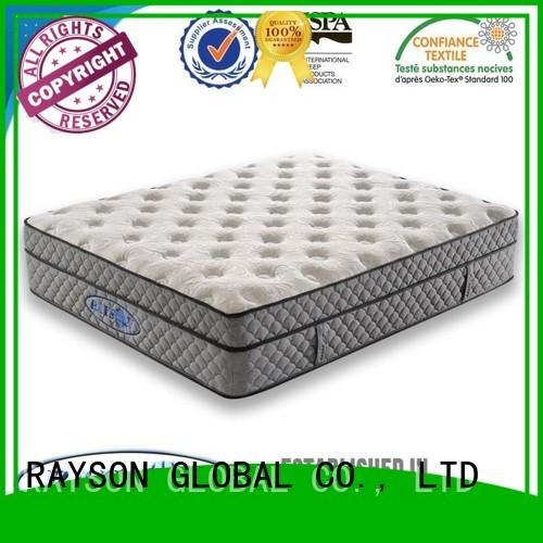 Rayson Mattress Brand slow gel trade cooling tufted bonnell spring mattress