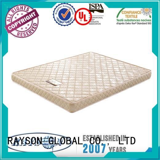 Rayson Mattress memory polyurethane foam bed Supply
