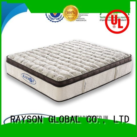 Wholesale support mettress pocket sprung and foam mattress Rayson Mattress Brand