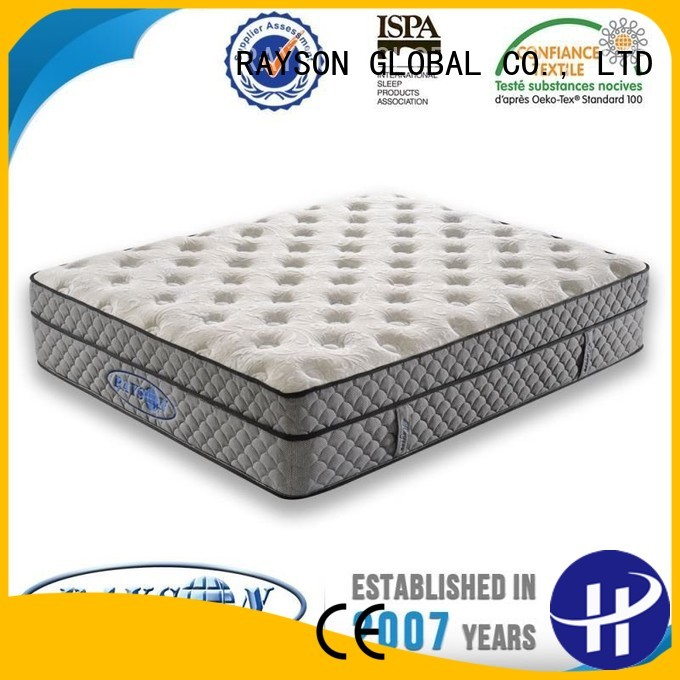 bonnell spring coil excellent therapeutic cooling tufted bonnell spring mattress Rayson Mattress Brand
