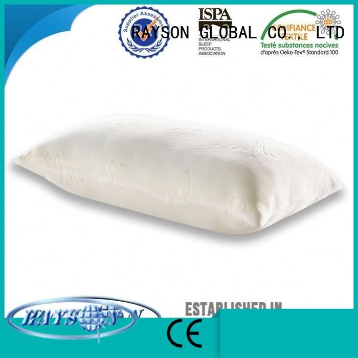 direct circular turkish memory foam pillow deals Rayson Mattress Brand