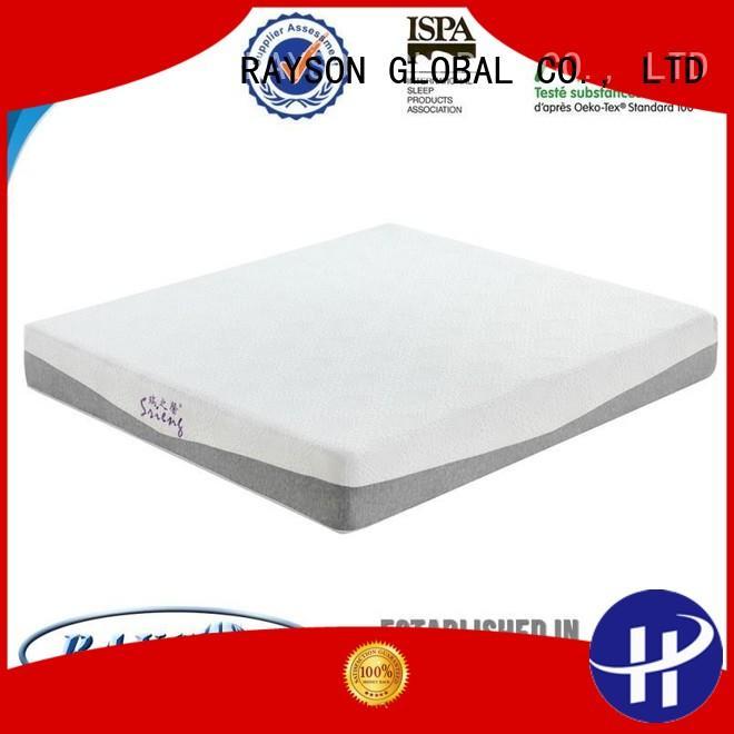 japanese memory foam mattress and bed visco Rayson Mattress company