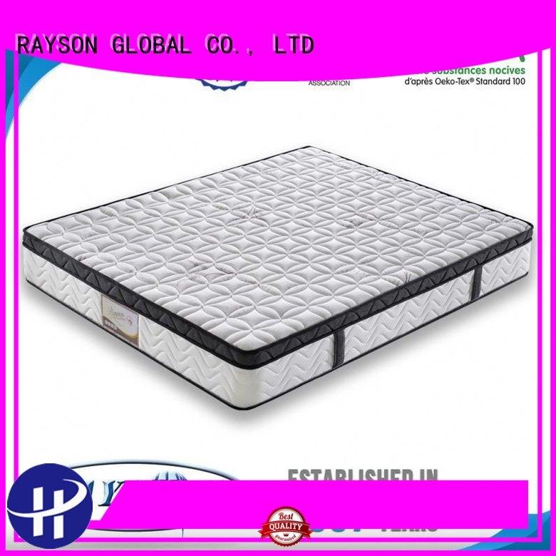 Rayson Mattress night bonnell & memory sprung mattress supplier for hotel