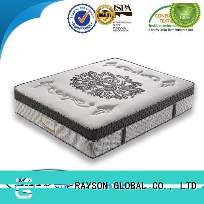 Rayson Mattress plush hotel mattress brands Supply