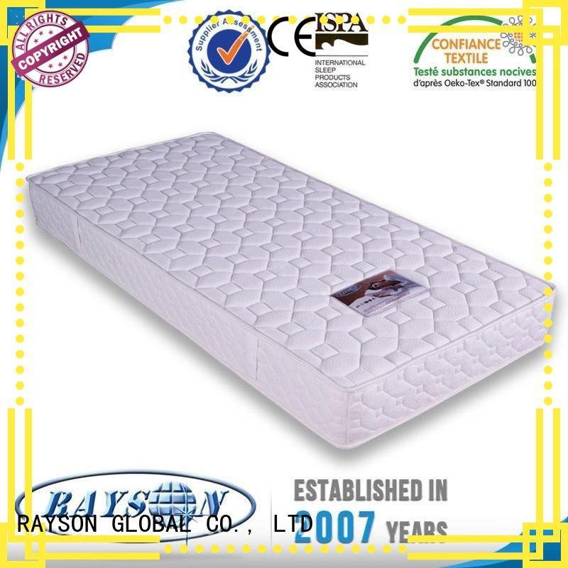 Rayson Mattress bonnell pocket spring mattress advantage manufacturer for villa