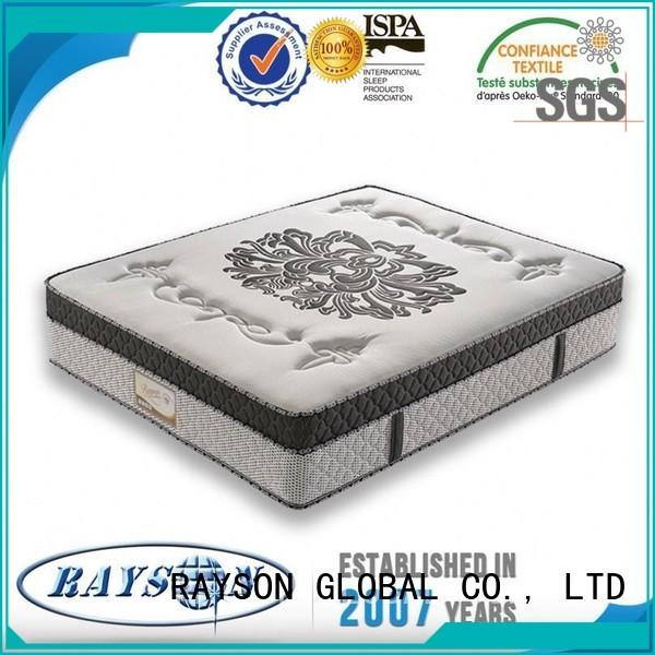 Rayson Mattress Brand protector rsblf firm king size pocket mattress filled