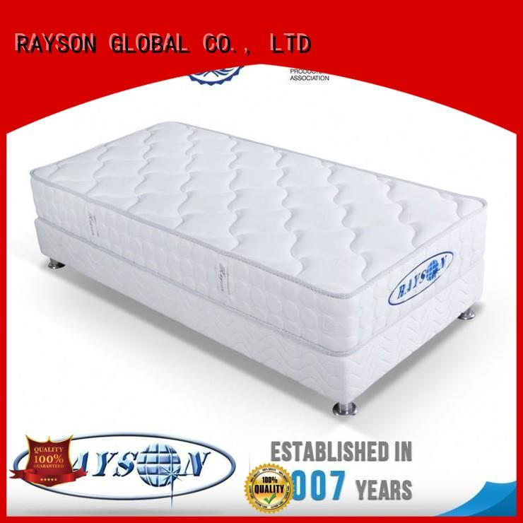 stead chinese density Rayson Mattress Brand memory foam and coil spring mattresses factory