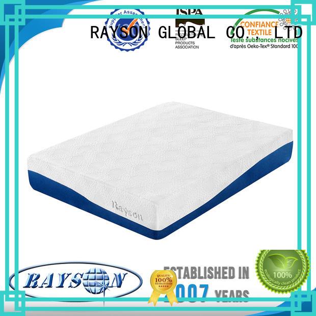 Rayson Mattress Top memory foam mattress vacuum bag manufacturers