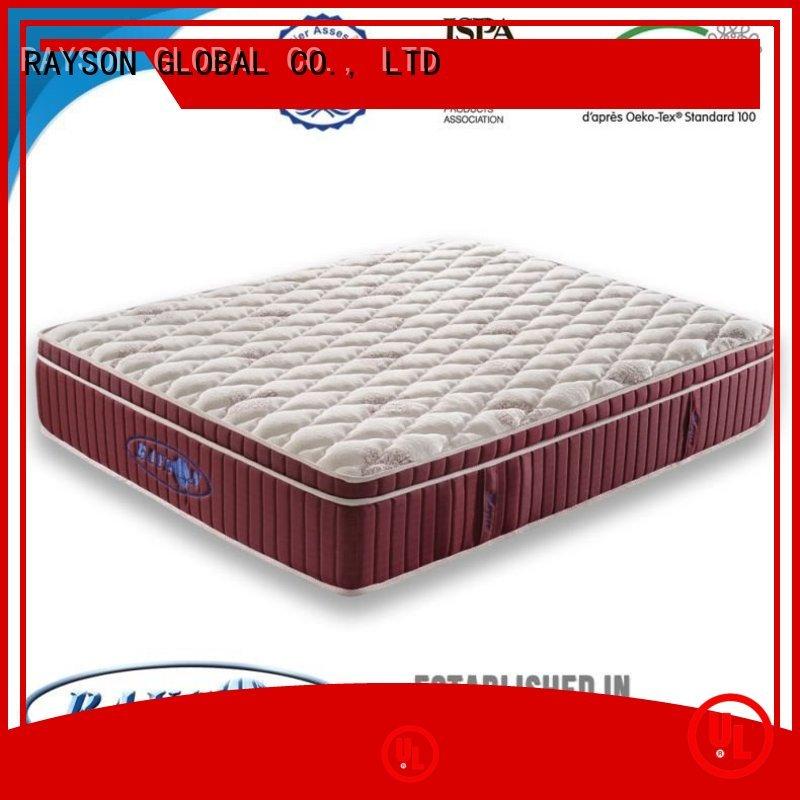 Rayson Mattress king hotel pillow top mattress pad Supply