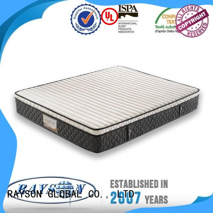 Rayson Mattress foam pocket sprung memory foam mattress sale Suppliers