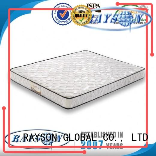 Rayson Mattress Brand siliconized luxury bonnell spring mattress brands supplier