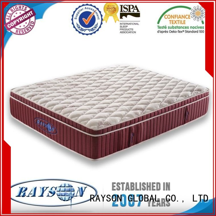 triangle tricot thickness pocket sprung and foam mattress mettress Rayson Mattress Brand