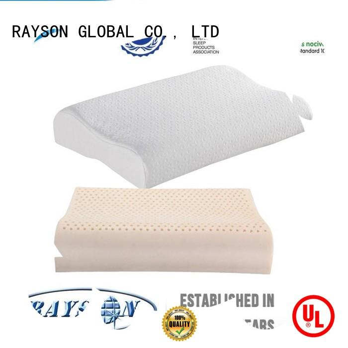 Rayson Mattress Brand snore 3d function best latex pillow 2018 manufacture
