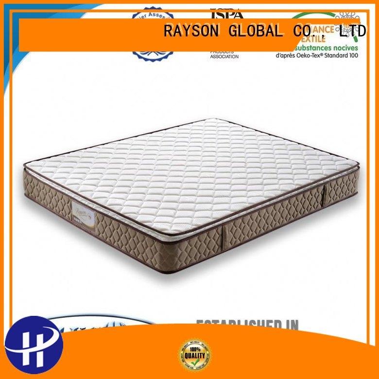 Rayson Mattress Brand competitive prison sell 3 Star Hotel Mattress manufacture