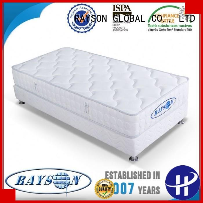 memory foam and coil spring mattresses mattres flip continuous spring mattress pillows Rayson Mattress Brand
