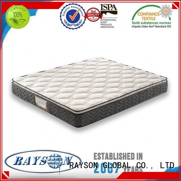quaity wooden sore cheapest Rayson Mattress Brand bonnell spring mattress benefits supplier