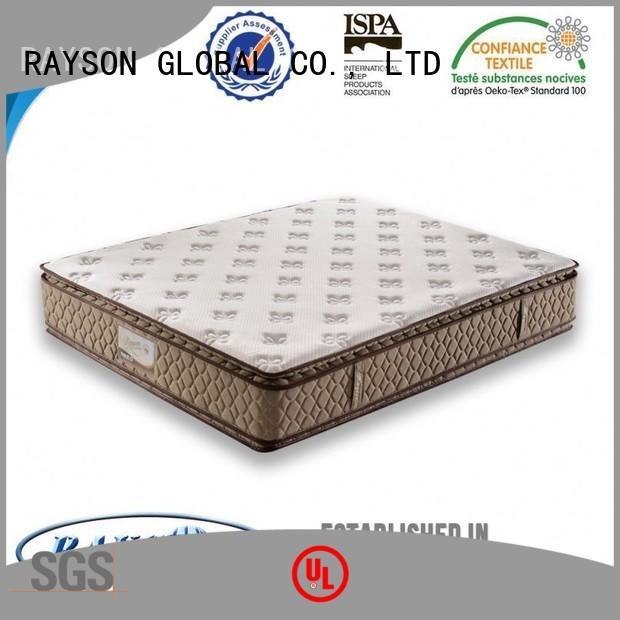 Wholesale orthopedic king size pocket mattress Rayson Mattress Brand