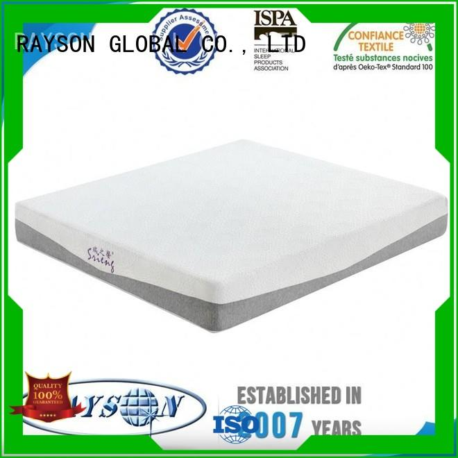 big french queen Rayson Mattress Brand memory foam mattress and bed