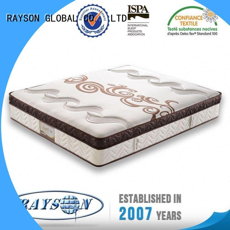 Rayson Mattress bonnel pocket spring mattress company manufacturer for house