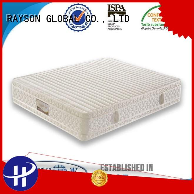 mattress certification 4 Star Hotel Mattress comfort Rayson Mattress Brand