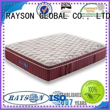 Rayson Mattress king best hotel bed pillows Supply
