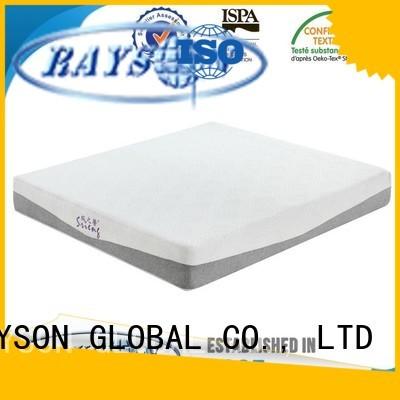 Rayson Mattress Brand support slim best quality memory foam mattress flip