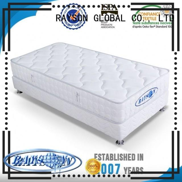 memory foam and coil spring mattresses silicon continuous spring mattress Rayson Mattress Brand
